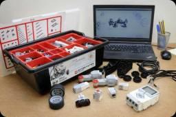 Lego Mindstorms 2 kit's + 2 kit's expansão + 2 kit's energia renovável
