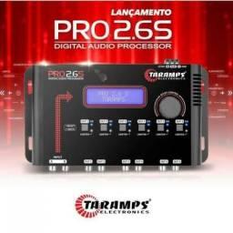 Processador de áudio taramps novo