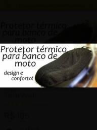 Protetor para banco de moto impermeável universal