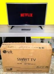 """SMART TV 32"""" LG SEMINOVA Com CAIXA"""