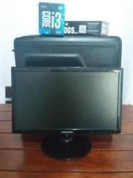 PC Gamer DDR4 Intel i3 7100/Memória DDR4/ Geforce GTX Ti/ HD 500GB/Fonte Corsair + Brindes