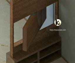 Kit para montagem de painel giratório em móveis