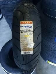 Usado, Pneu de moto Maxxis 180/55 R17 73W M6029 - Novo com garantia comprar usado  Colombo
