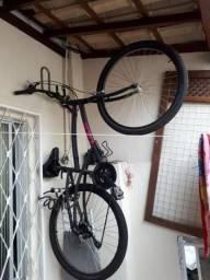 "Bicicleta Caloi - 100 Comfort 26"" - Feminina - 2019 - Rosa e Preta"