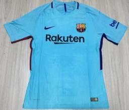 Camisa Barcelona azul 17 18 1d6c0aff17ee6