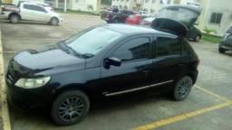Carro Vw - Volkswagen Gol 1.0, Preto 4 portas - 2010