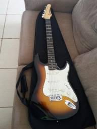 Guitarra Samick e cubo cute 25
