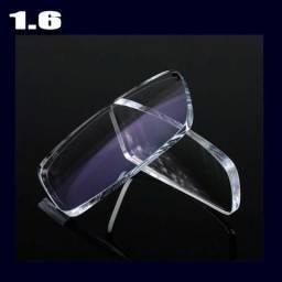 dc3b40c35 Lentes para óculos Visão Simples em Policarbonato 1.56 sem anti reflexo R$  55,00