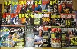 Lote Revistas Guitar Class, Cover Guitarra & Guitar Player