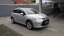 CITROEN C3 EXCLUSIVE 1.6 16V AT6 FLEXSTART Prata 2019/2019
