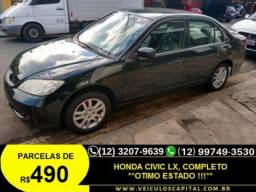 HONDA  CIVIC LXL 1.8 - 2006