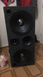 Vendo caixa de som com 2 ultravox de 400 1 corneta d200 selenium e 1 tuwiter jbl comprar usado  São José do Rio Preto