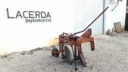 Arado reversivel 2 para trator