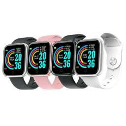 Smartwatch Y68 à Prova d?Água/ Distância / Calorias / Sono / Alarme