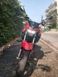 Yamaha fz25 2018 vermelho fosco