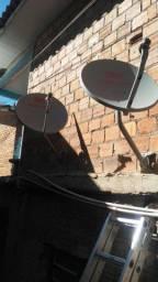 Somente instalaçao de antenas