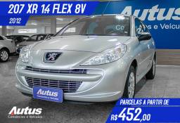 Peugeot 207 Hatch XR 1.4 8V (flex) 2p 2012