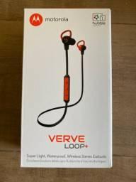 Headphone Bluetooth Motorola Verve Loop+ LACRADO!! ZERO!!!