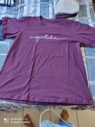 Camisas algodão tamanho G/GG --R$ 35,00
