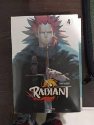 Mangás: Radiant volume 4, Radiant volume 8 e Boku no hero volume 3
