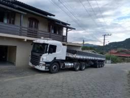Caminhão Scania P360 6x2 2014+carreta Randon 2008LS