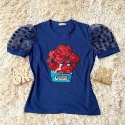 T-Shirts de Luxo Malha 30.1