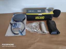 Título do anúncio: Microfone Condensador Arcano