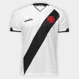 Camisa do Vasco II 2020 s/nº - Diadora Masculina - Branco