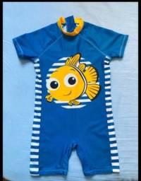 Macaquinho Praia/Piscina Bebê Proteção UV