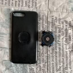 Kit para bicicleta/motocicleta da Quad Lock para iPhone 8 Plus/7 Plus