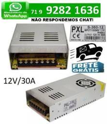 Fonte Chaveada Transformador Bivolts 12v 30A 600w