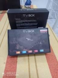 Título do anúncio: Tv Box 32G + 256G produto Novo zero