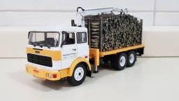 Revista Altaya c/ Miniatura caminhão Fiat  190-H  1:43