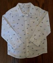 Título do anúncio:  Camisa Zara 3 a 4 anos