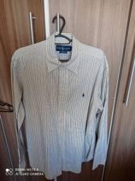 Título do anúncio: Camisa polo Ralph Lauren listrada tamanho L