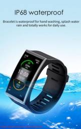 "Smartwatch DM12 tela 1.9"" à prova d'água"