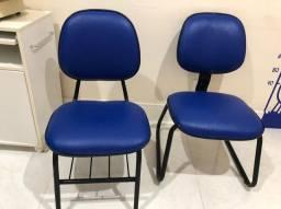 Cadeiras para mesa de reunião