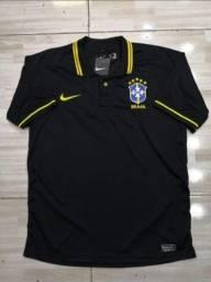 Título do anúncio: Camisas da Seleção Brasileira Nike 21/22 Entrego
