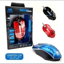 Título do anúncio: Mouse Gamer Knup 1600dpi Led Optico Ajustavel KP-V40