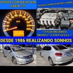 Título do anúncio: Honda City ex 2010 1.5 flex completo ar condicionado mecanico