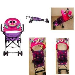 Carrinho de Bebê Umbrella Monster Rosa - Voyage