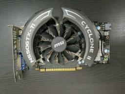 NVidia GeForce MSi GTX 550 TI Cyclone II placa de video