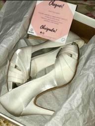Sapato de noiva Spaço criativo
