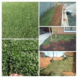 Título do anúncio: Mão de obra para plantar grama.