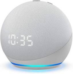 Echo Dot 4ªgeração Alto-falante Inteligente Com Relógio