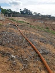 Cano Tubo PVC corrugado irrigação
