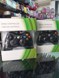 Controle com fio Xbox 360