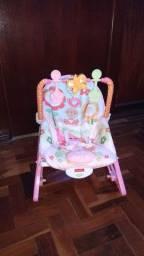 Cadeira de Balanço Fisher Price Minha Infância.