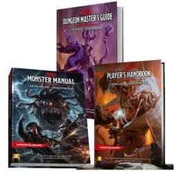 Kit Livros Dungeons & Dragons 5E