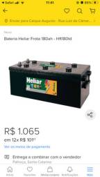 Bateria Heliar 180 amperes ..